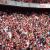arsenal fans cheering emirates goal